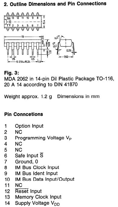 MDA2062