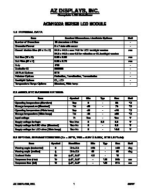 ACM1602A-FEGD-T image