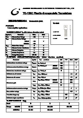 B649a datasheet vcbo=-180v, pnp transistor hitachi.