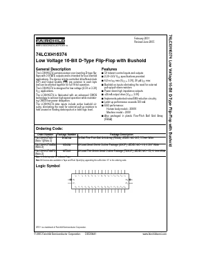74LCXH16374G image