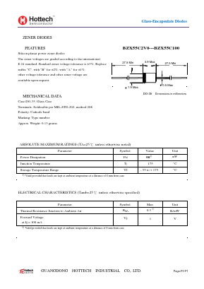 BZX55C18 image