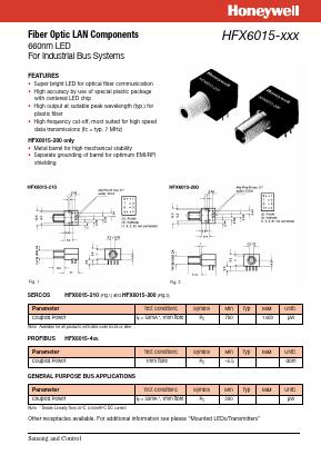 HONEYWELL HFX6015-200 NEW IN BOX HFX6015200