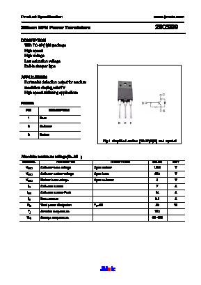 C5339 datasheet pdf savantic semiconductor.