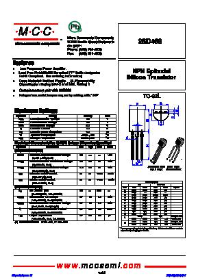 Pdf) d468 datasheet, transistor datasheetspdf. Com.