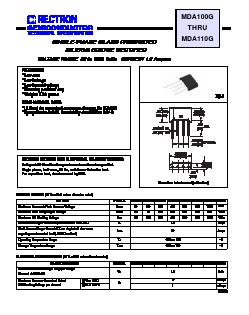 MDA106G image