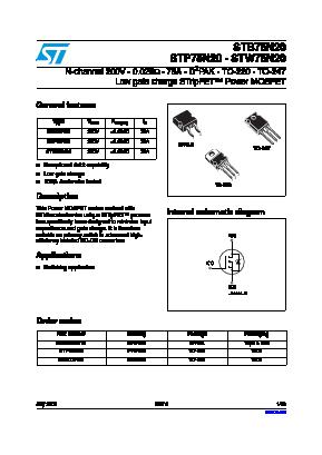 STB75N20T4 image