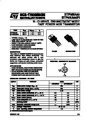 STP6NA60 image