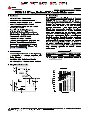 Tps54231 データシート | tij. Co. Jp.