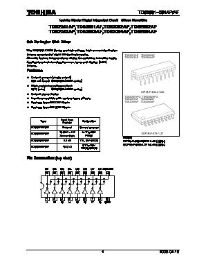 Datasheet) td62084afn pdf td62083,084afn toshiba bipolar digital.