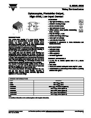 5300VRMS OPTOCOUPLER IL420 VISHAY SEMICONDUCTOR